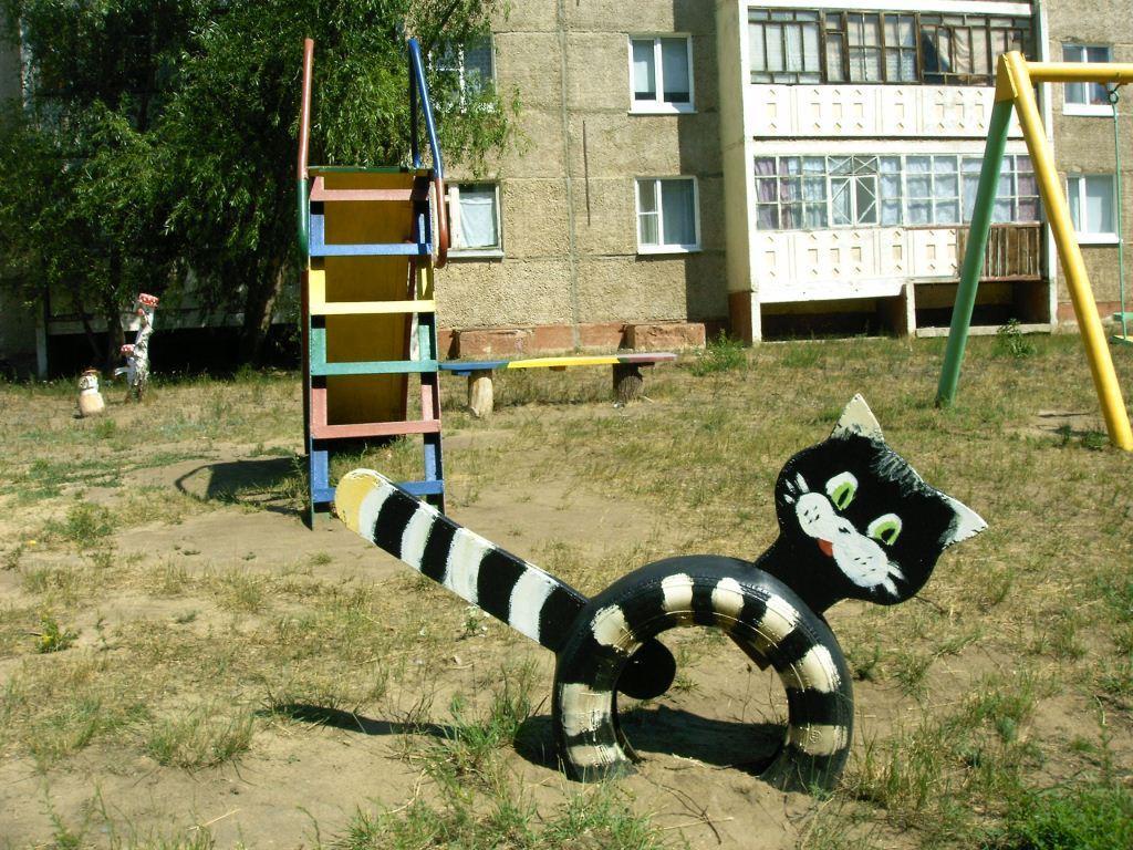 Фигуры на детскую площадку