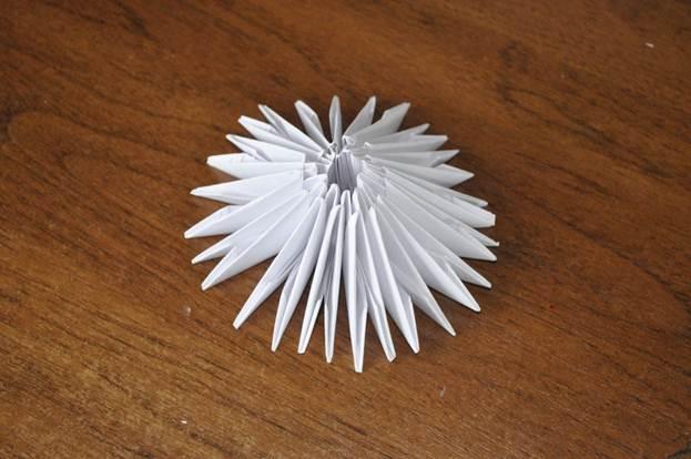Сборка модулей оригами