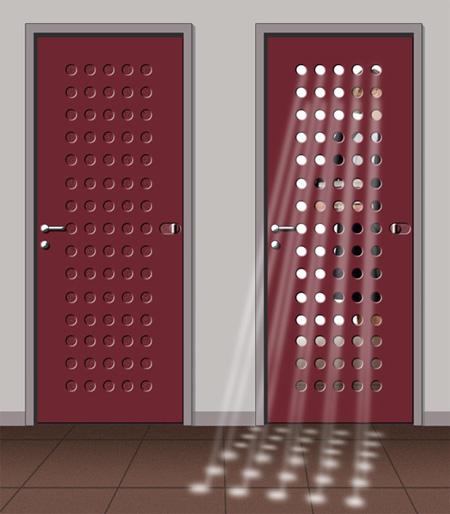 воздухопроницаемая дверь