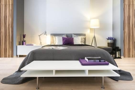 Удобная современная кровать