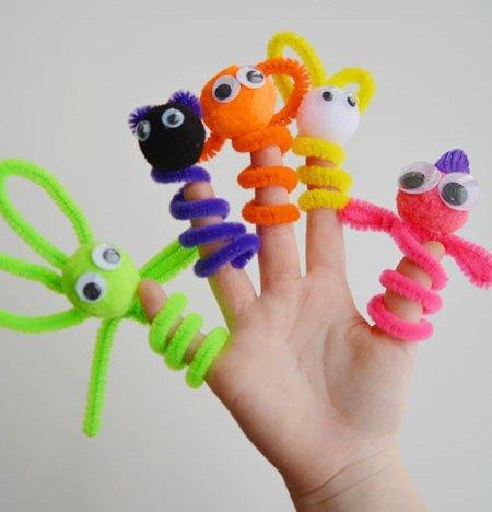 Самодельные куклы для кукольного театра картинки