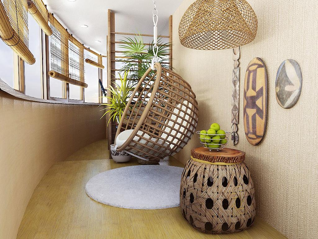 Внутренняя отделка балкона: материалы, идеи, рекомендации