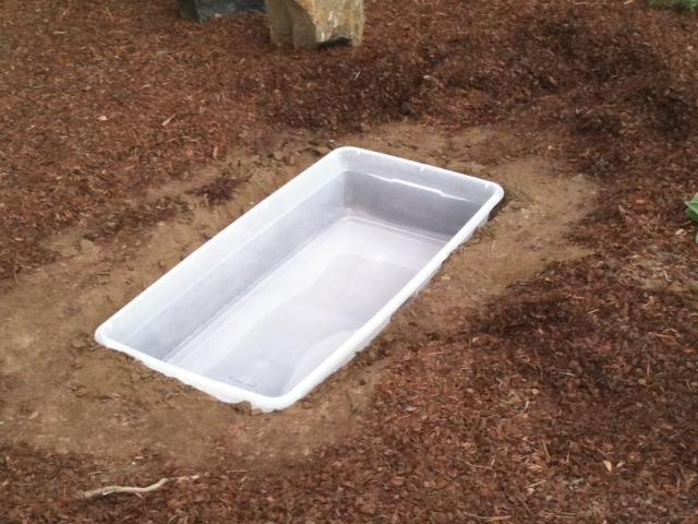Резервуар для водоема
