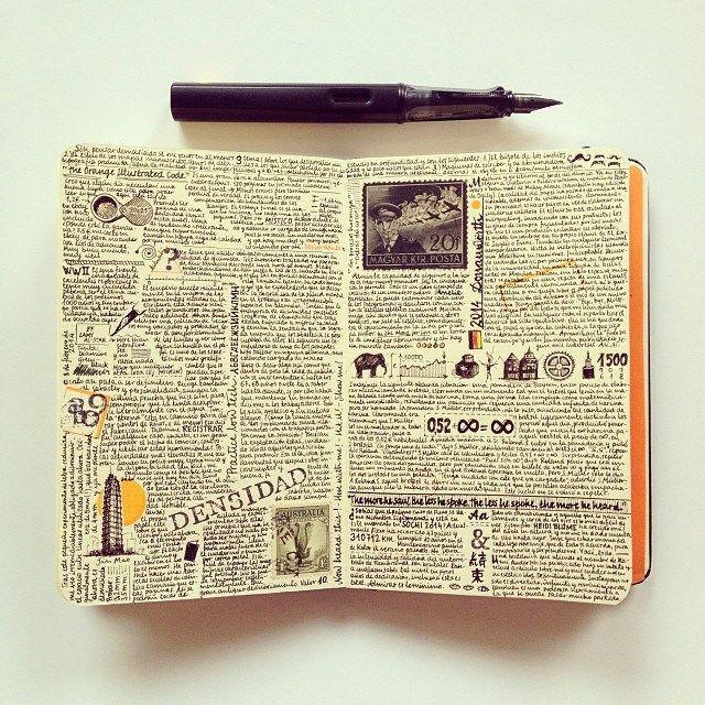 Необычный дневник