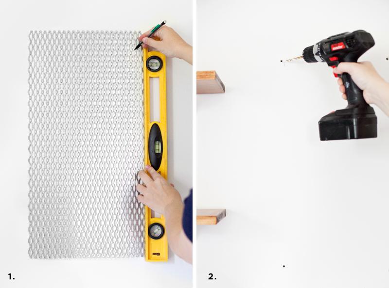 Как сделать доску для заметок и органайзер своими руками
