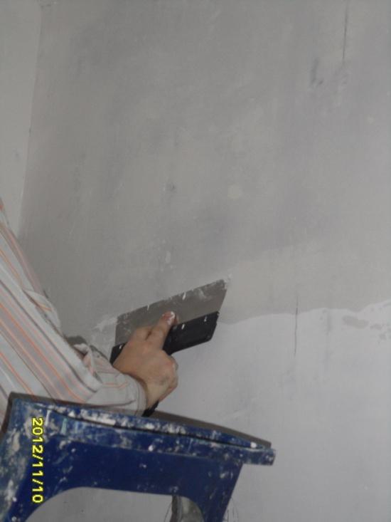 подготовка стен фото
