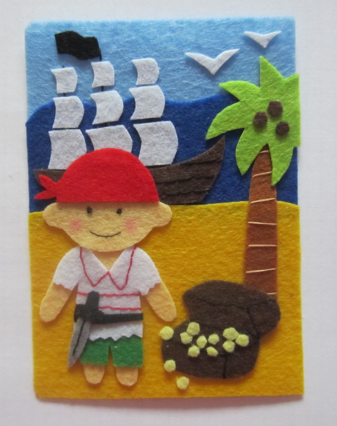 Фигура пирата