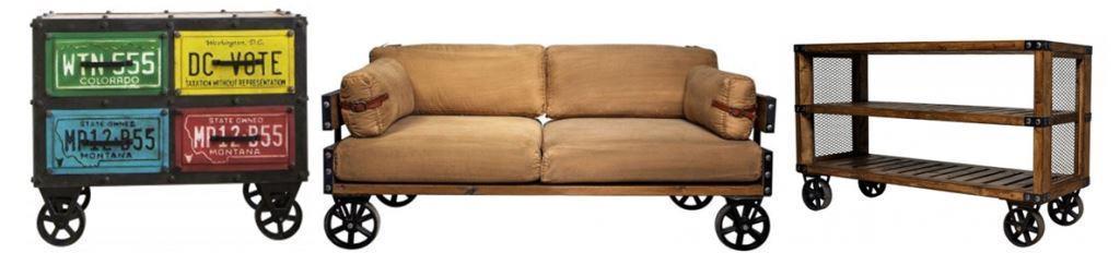 Мебель на колесах