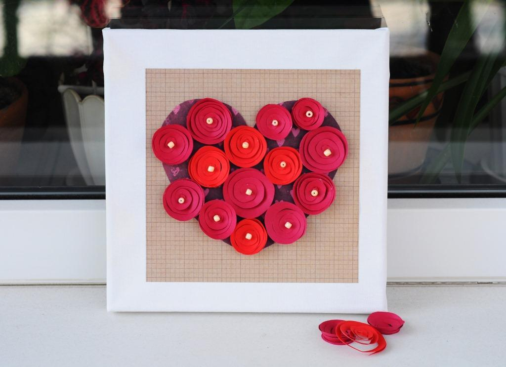 Картина с сердцем