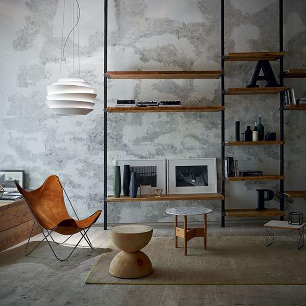 Бетон винтерьере: как сделать модные стены ввашей квартире