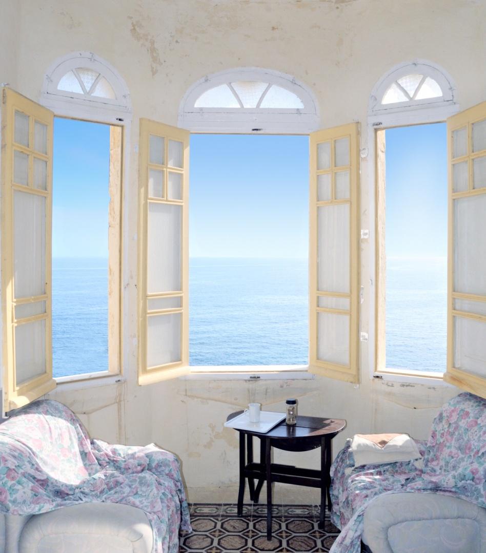 Балкон с эркером