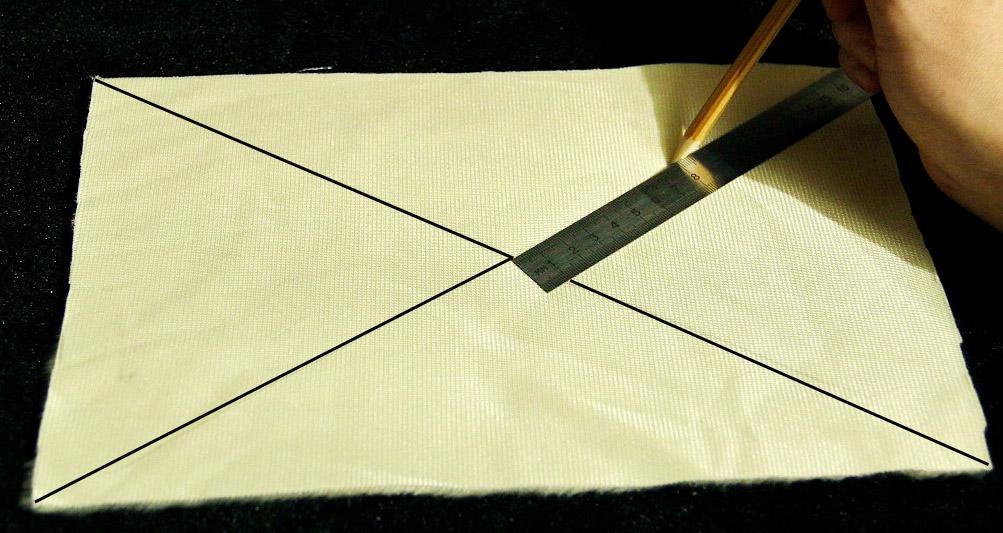 Разметка диагоналей
