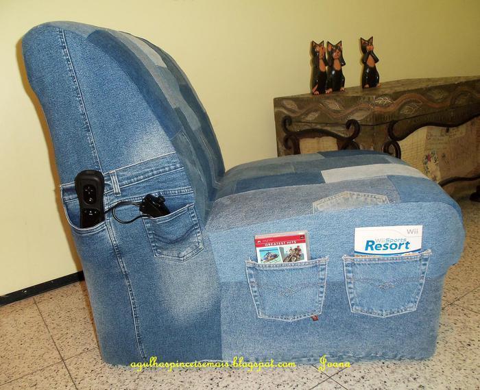Делаем полезные вещи из старых джинсов своими руками (44 фото) 85
