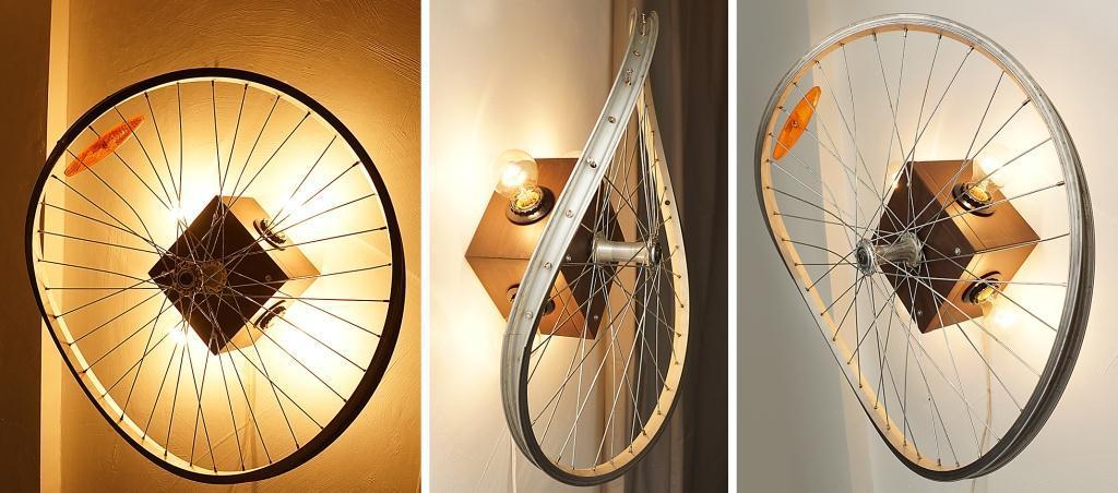 Что можно сделать из велосипедных колес своими руками