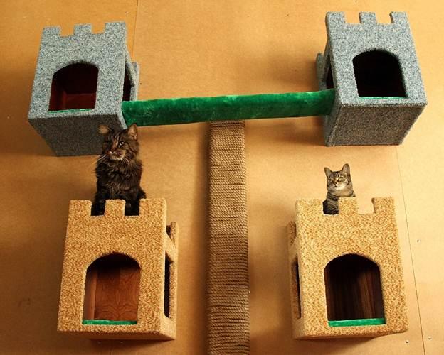Домик для кошки своими руками: пошаговая инструкция - InMyRoom