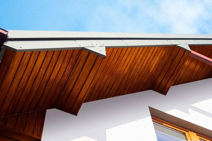 Идеи для подшивки свесов крыши