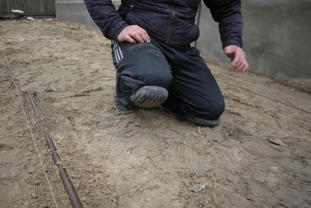 Наколенники для укладки тротуарной плитки