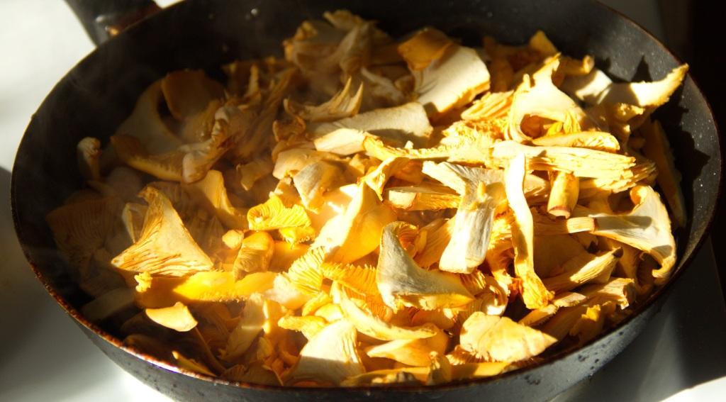 Как вкусно приготовить жареные грибы лисички