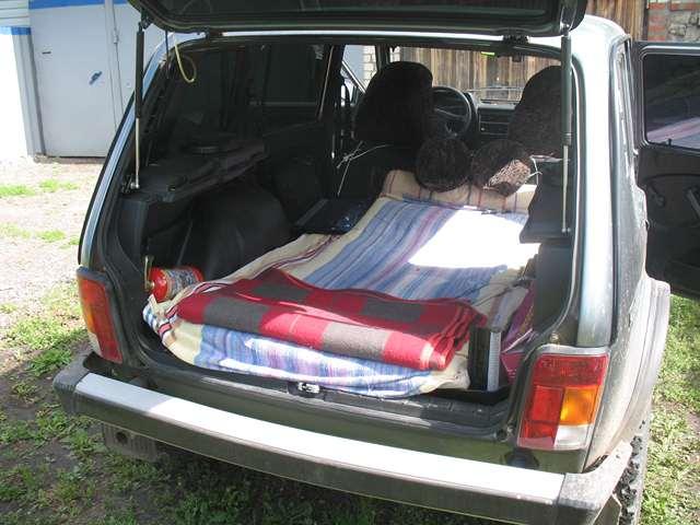 фото багажника ваз