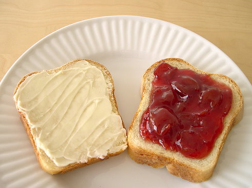 бутерброды +на стол фото