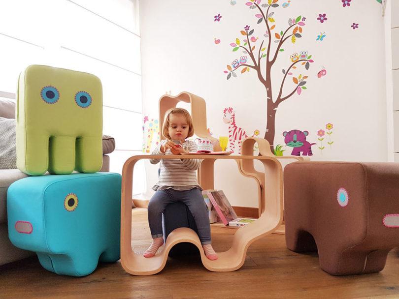 Мебель для детской, скоторой хочется играть