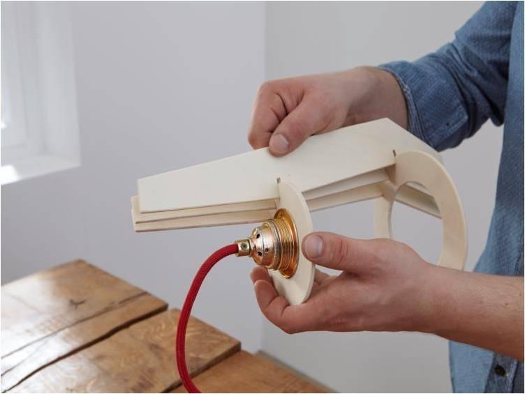 Как сделать светильник
