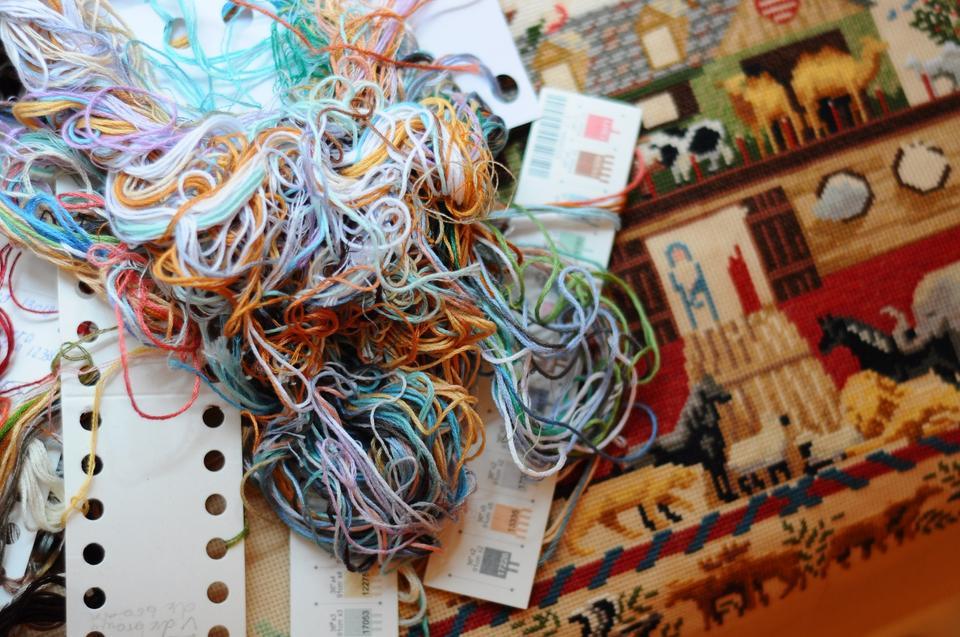 Схемы вышивки крестиком