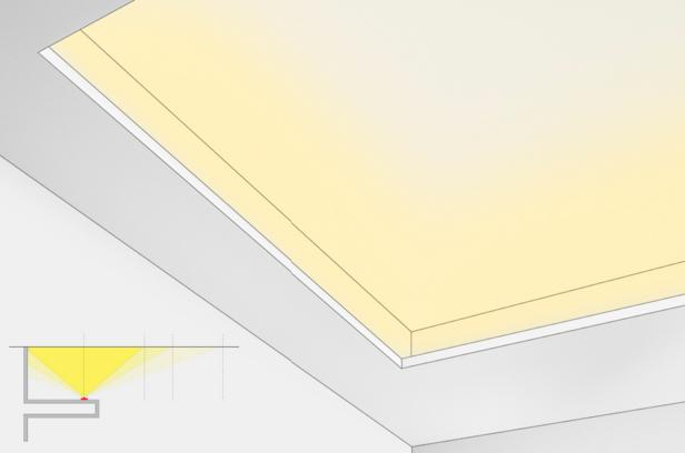 Светильник для закарнизного освещения