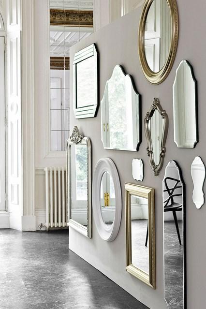 Декорирование зеркалами