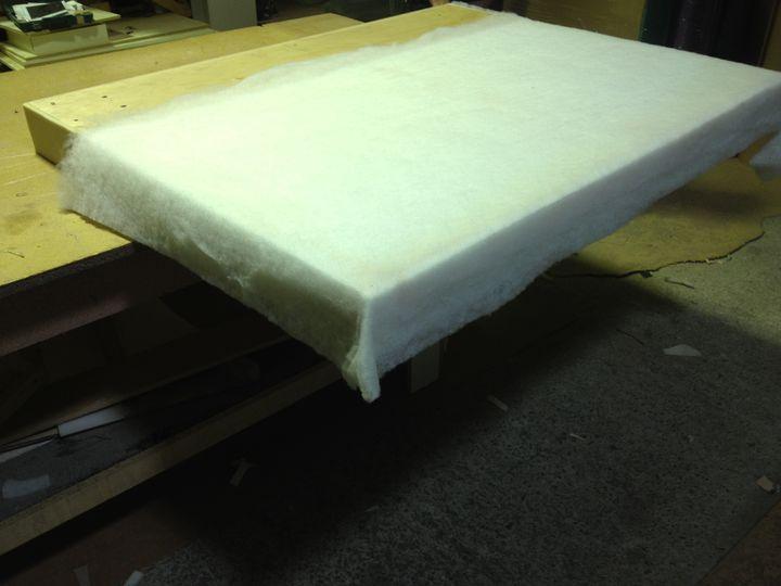 Изготовление исборка кровати дома
