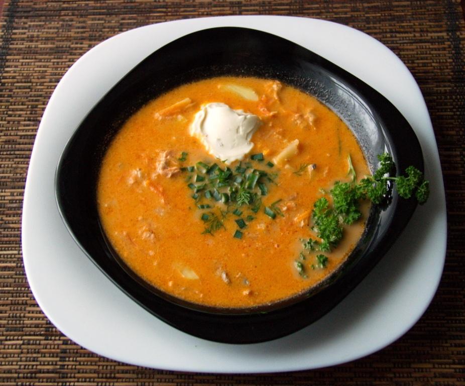 рецепт супа из мороженной сайры
