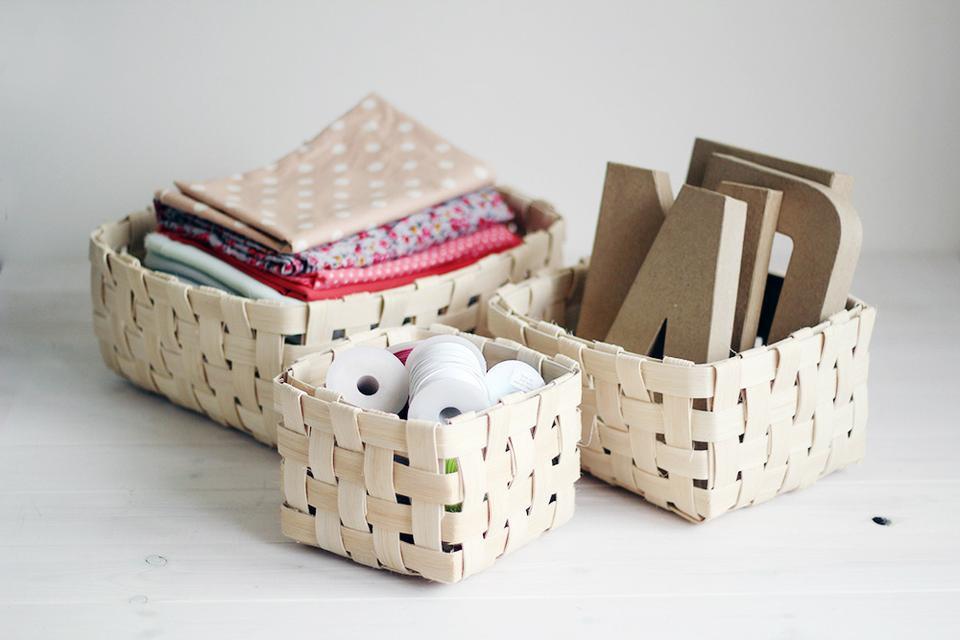Плетена корзинка своими руками