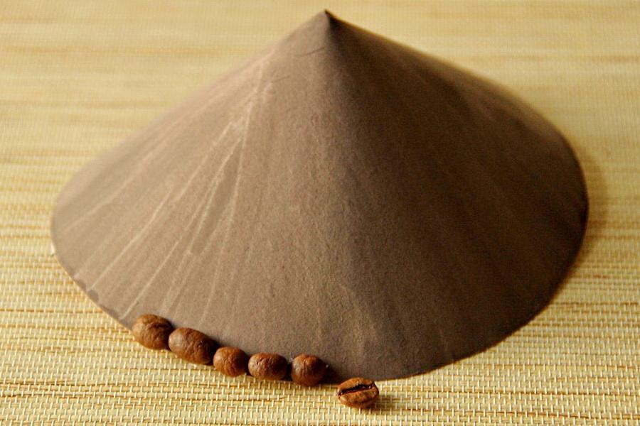 Домик из кофейных зерен своими руками
