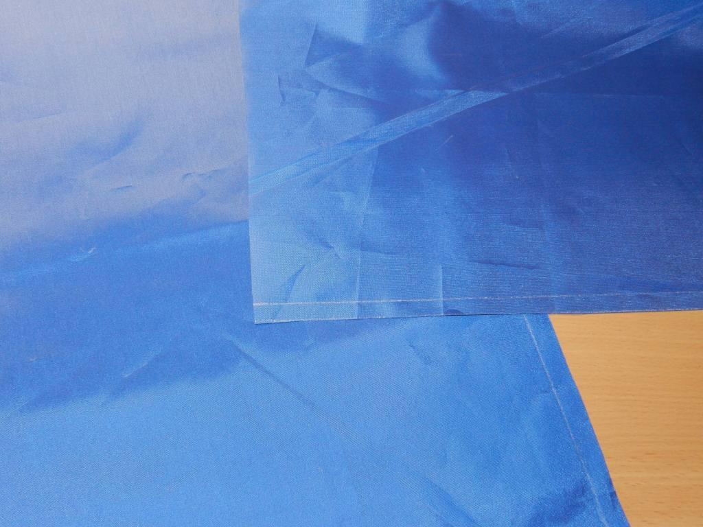 Подготовка ткани к шитью