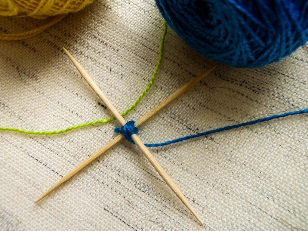 Плетение на зубочистках
