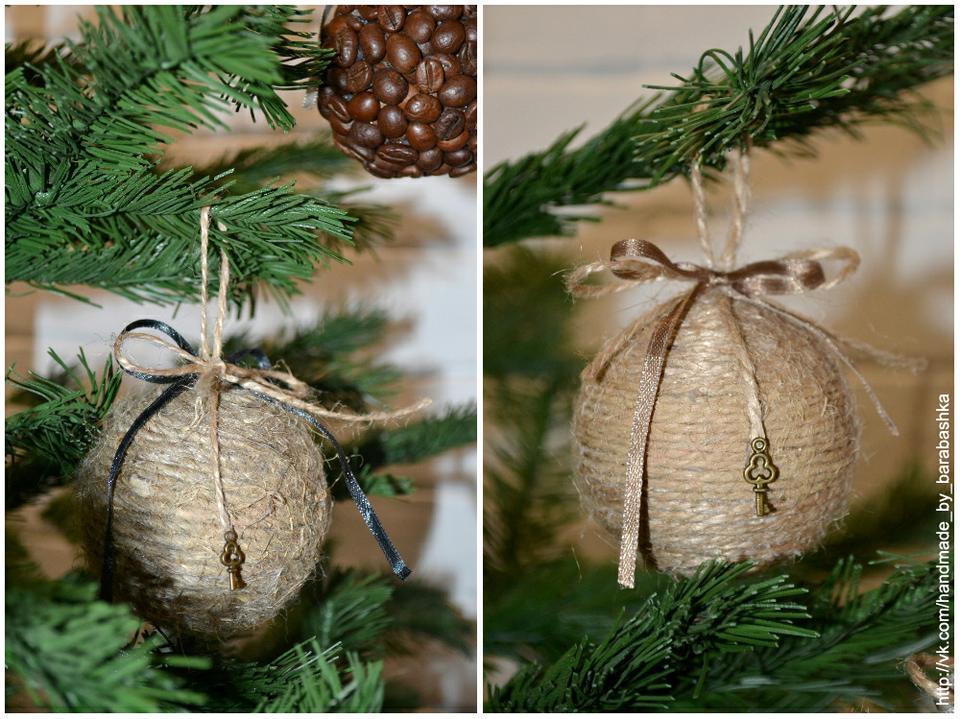Мк новогодние шары