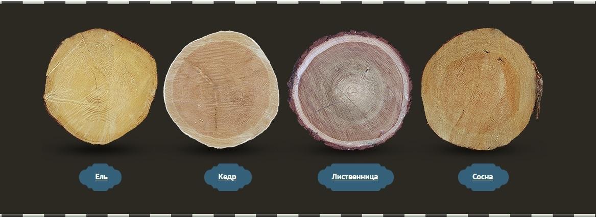 Виды древесины иихприменение встроительстве дома
