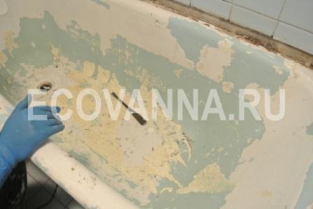 Ванна без вкладыша