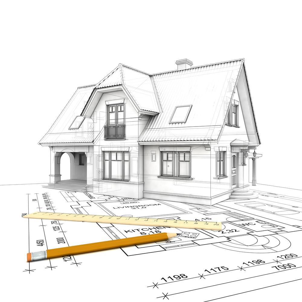 Как расположить дом на участкн