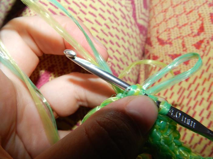 вязание петель