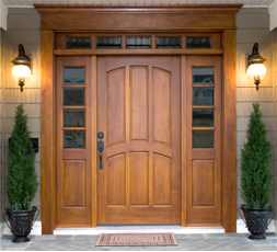 Купить деревянные двери из массива в Туле по цене от 25