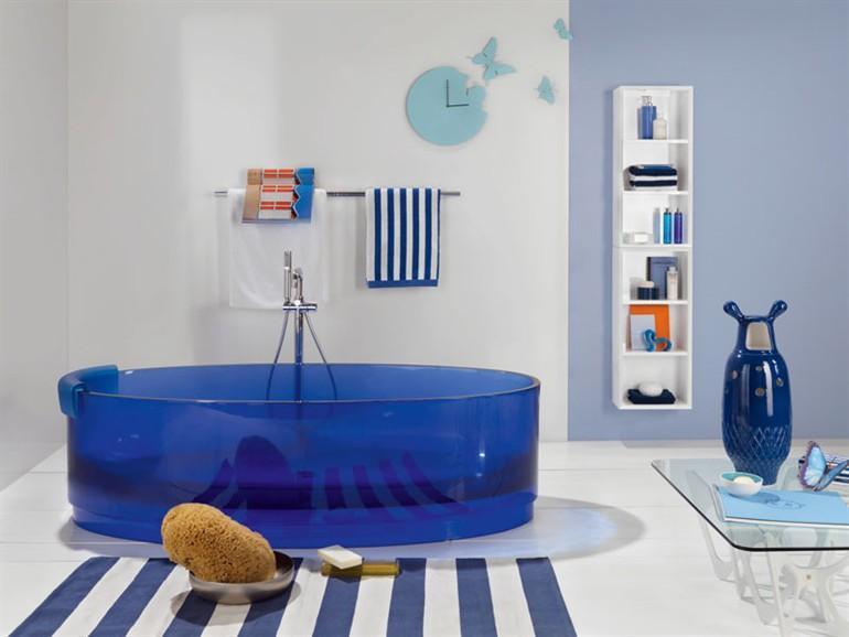 Цветная ванна