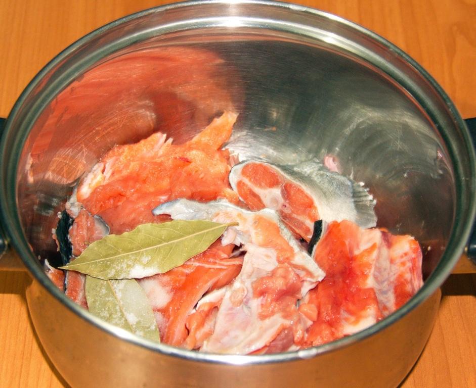 блюда из рыбы рецепты супа