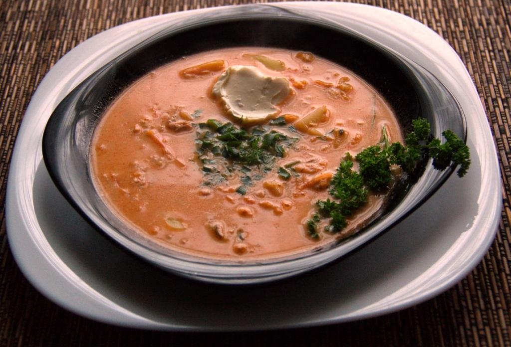 как приготовить суп из красной рыбы в домашних условиях