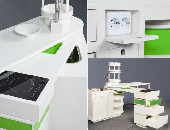 Мини-кухня 360