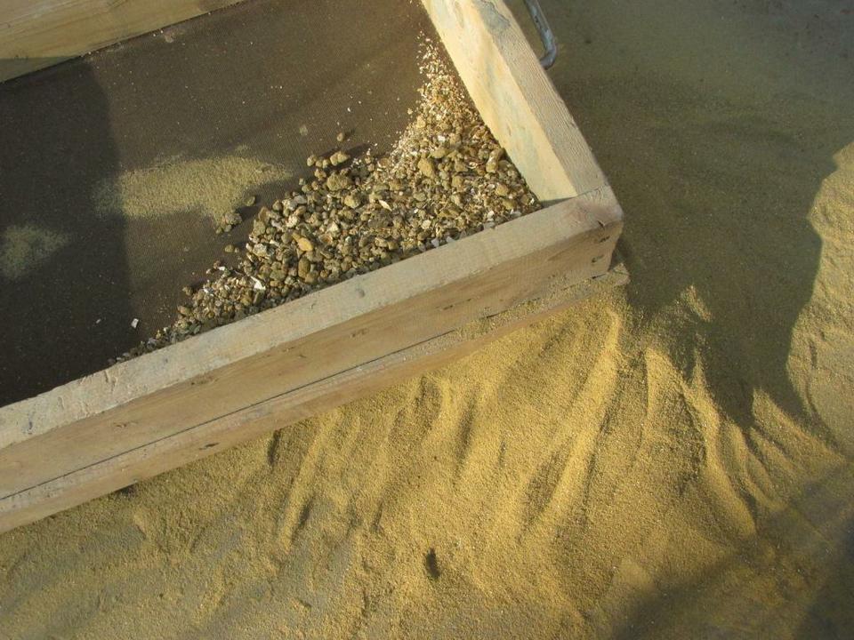Просеиваем песок