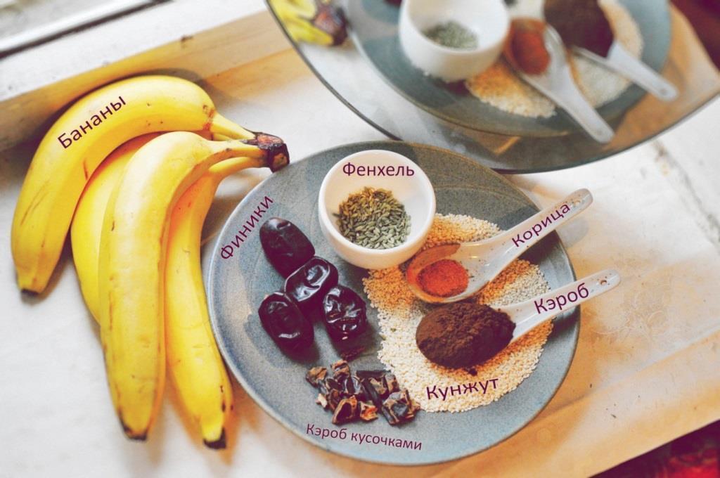 Ингредиенты для шоколадного молока