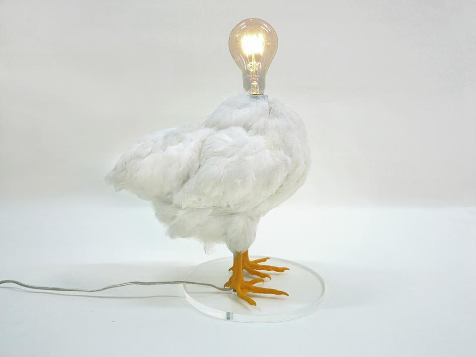 Светильник курица