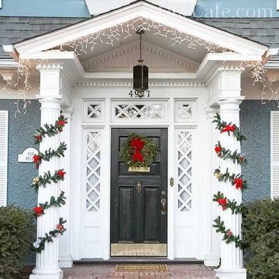 Рождество ванглийском стиле: украшения израстений
