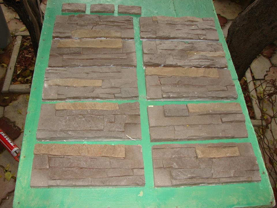 Как изготовить формы для искусственного камня своими руками 10